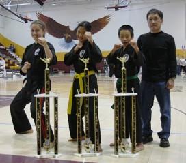 Beginner, Intermediate, and Advanced Grand Champs
