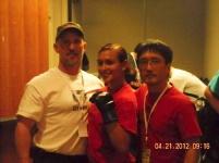 Coach Fascitelli, Julia, and Coach Kim